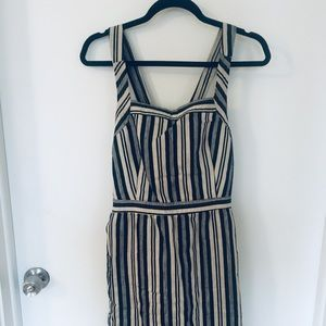 Madewell cross back dress
